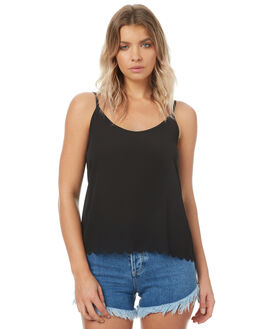 BLACK OUTLET WOMENS SWELL FASHION TOPS - S8174168BLACK