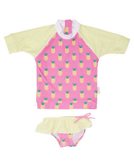 PINEAPPLE CRUSH BOARDSPORTS SURF PLATYPUS AUSTRALIA TODDLER GIRLS - PK45GP-18PNE