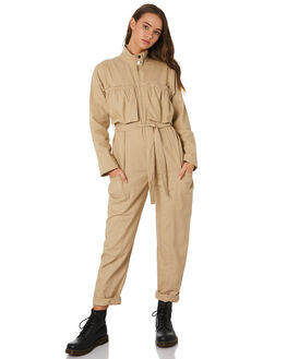 NEUTRAL OUTLET WOMENS TWIIN PLAYSUITS + OVERALLS - IE19S1451NETRL