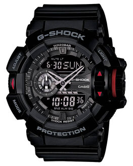 BLACK MENS ACCESSORIES G SHOCK WATCHES - GA400-1BBLK