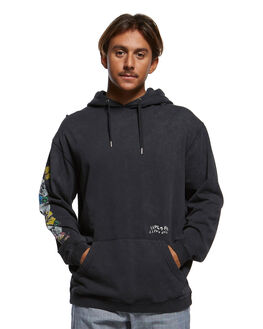 BLACK MENS CLOTHING QUIKSILVER JUMPERS - EQYFT03994-KVJ0