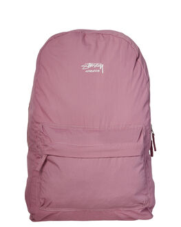 DUSTY MAUVE MENS ACCESSORIES STUSSY BAGS + BACKPACKS - ST781008DMAU