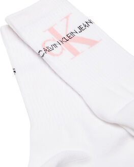 WHITE WOMENS CLOTHING CALVIN KLEIN SOCKS + UNDERWEAR - ECC608-510510