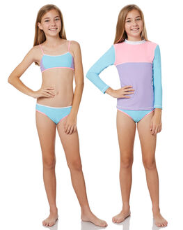 SHERBET BLOCK KIDS GIRLS PLATYPUS AUSTRALIA SWIMWEAR - PK44GS-18SHB