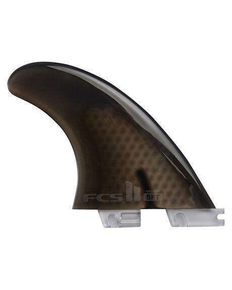 BLACK BOARDSPORTS SURF FCS FINS - FSFT-SF01-MD-TS-RBLK