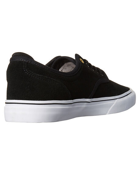 BLACK WHITE MENS FOOTWEAR EMERICA SNEAKERS - 6101000104976