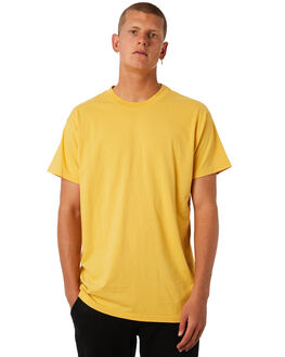 LIGHT MUSTARD MENS CLOTHING BILLABONG TEES - 9572051LMSTD