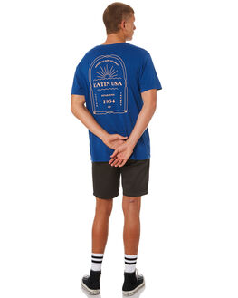 INDIGO MENS CLOTHING KATIN TEES - TSDEC01INDGO