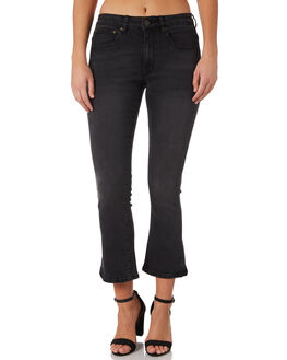 BLACK WASH OUTLET WOMENS THE HIDDEN WAY JEANS - H8183194BKWSH