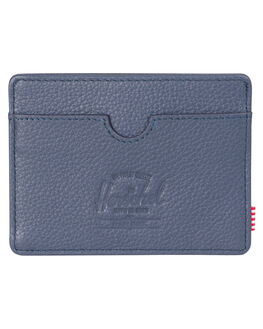 NAVY PEBBLED MENS ACCESSORIES HERSCHEL SUPPLY CO WALLETS - 10360-00776-OSNVY