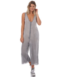 FADED GREY WOMENS CLOTHING THRILLS PLAYSUITS + OVERALLS - WTS7-905GFGREY