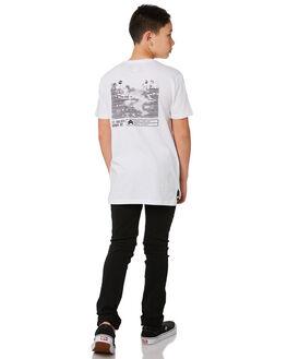 WHITE KIDS BOYS ST GOLIATH TOPS - 2432001WHT