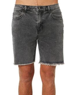 STONE BLACK MENS CLOTHING RUSTY SHORTS - WKM0938STB