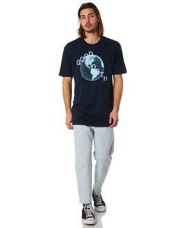 NAVY MENS CLOTHING GOOD WORTH TEES - TGL1821NAVY