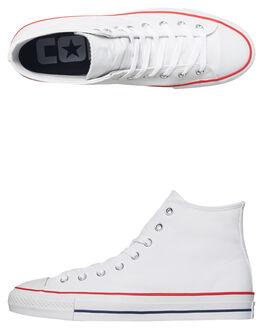 WHITE MENS FOOTWEAR CONVERSE SNEAKERS - 159698WHI