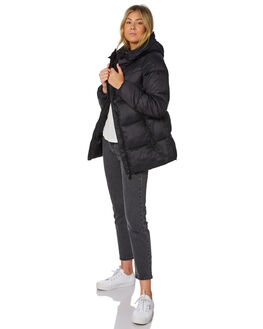 BLACK WOMENS CLOTHING RIP CURL JACKETS - GJKCX40090
