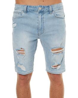 SUN RIPPED MENS CLOTHING A.BRAND SHORTS - 810003274