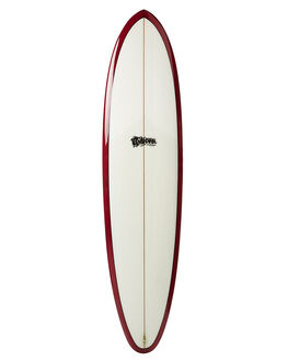 RED TINT SURF SURFBOARDS MCTAVISH MID LENGTH - MVRINCONRED