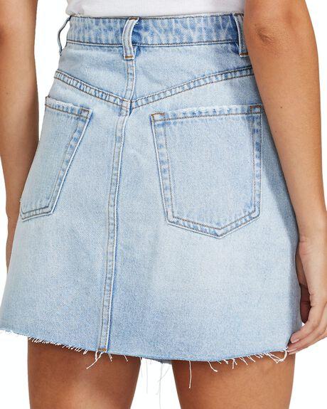 BLUE WOMENS CLOTHING NEON HART SKIRTS - 34644900039
