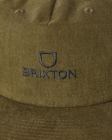OLIVE MENS ACCESSORIES BRIXTON HEADWEAR - 10734OLIVE