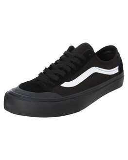 BLACK MENS FOOTWEAR VANS SNEAKERS - SSVNA3MVLB8CM