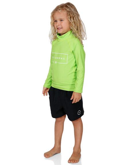 NEON GREEN BOARDSPORTS SURF BILLABONG BOYS - BB-7791502-NGN