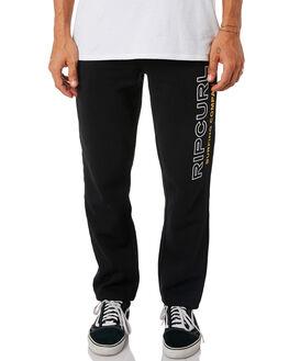 BLACK MENS CLOTHING RIP CURL PANTS - CPADQ10090