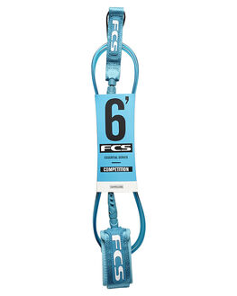 TEAL SURF HARDWARE FCS LEASHES - 2000-TEL-06FTEAL1