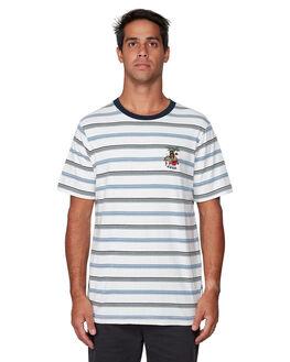 ANTIQUE WHITE MENS CLOTHING RVCA TEES - RV-R107061-AWT