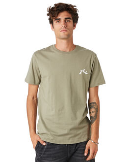 FADED OLIVE MENS CLOTHING RUSTY TEES - TTM2314FDO