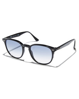 BLACK UNISEX ADULTS RAY-BAN SUNGLASSES - 0RB4259BLK
