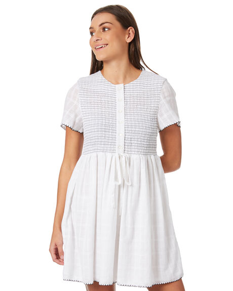 WHITE WOMENS CLOTHING THE HIDDEN WAY DRESSES - H8183451WHITE