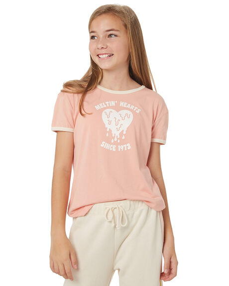 ROSE QUARTZ KIDS GIRLS BILLABONG TOPS - 5595002RQZ
