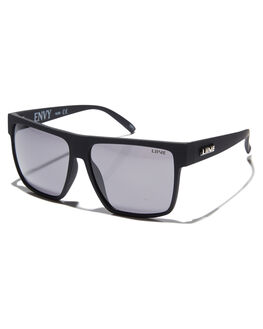 MATT BLACK MENS ACCESSORIES LIIVE VISION SUNGLASSES - L0623AMBLK