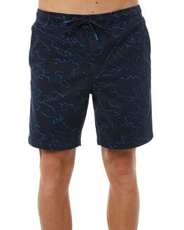 DEEP OCEAN MENS CLOTHING DEPACTUS BOARDSHORTS - D5183233DEOCN