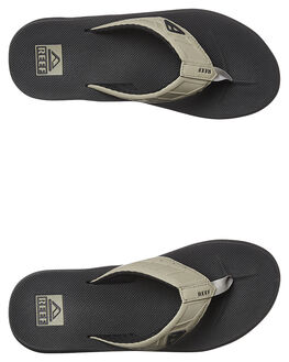 BLACK TAN MENS FOOTWEAR REEF THONGS - 2046BTA