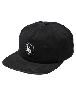 BLACK MENS ACCESSORIES TOWN AND COUNTRY HEADWEAR - THW613ABLK