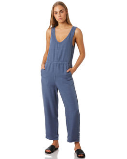 WASHED BLUE WOMENS CLOTHING BILLABONG PLAYSUITS + OVERALLS - 6596505WSB