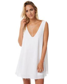 WHITE WOMENS CLOTHING TEE INK DRESSES - CAST31AWHT