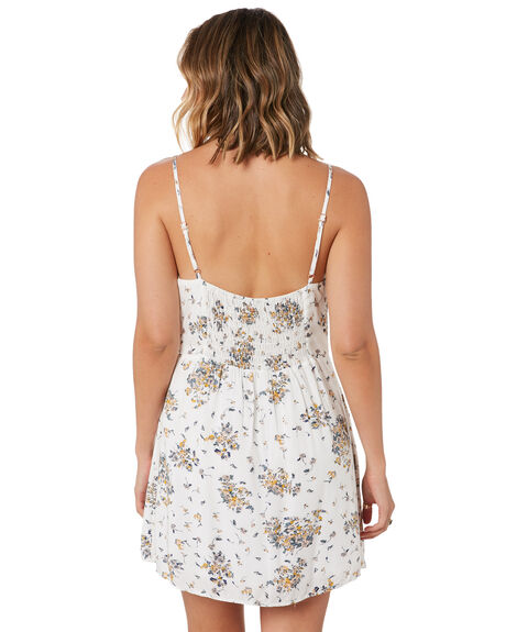 WHITE WOMENS CLOTHING RUSTY DRESSES - DRL1052-WHT