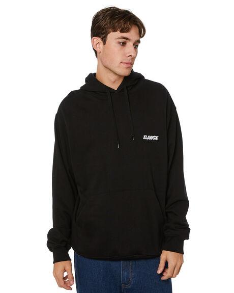 BLACK MENS CLOTHING XLARGE HOODIES + SWEATS - XL013207BLK