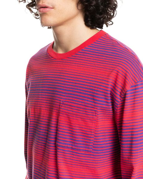 FADED HORIZONS BARBE MENS CLOTHING QUIKSILVER TEES - EQYKT04112-MPT6