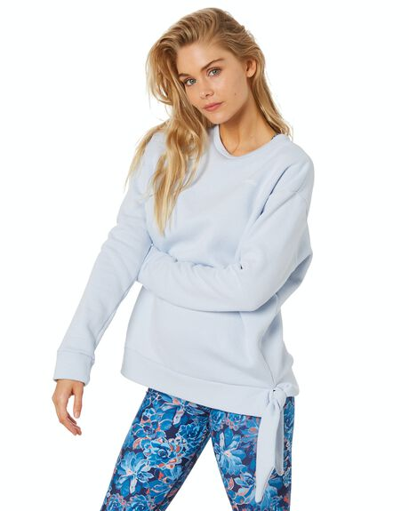 ICE BLUE WOMENS CLOTHING DK ACTIVE ACTIVEWEAR - DK05-016-ICEBLU-XS