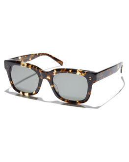 BRINDLE TORTOISE MENS ACCESSORIES RAEN SUNGLASSES - GIL-017GRN
