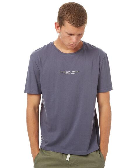 NAVY MENS CLOTHING RHYTHM TEES - OCT17M-PT04-NAV