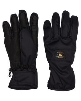 BLACK BOARDSPORTS SNOW DC SHOES GLOVES - EDYHN03026KVJ0