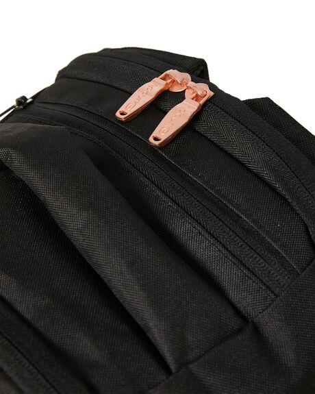 BLACK WOMENS ACCESSORIES RIP CURL BAGS + BACKPACKS - LBPMT10090