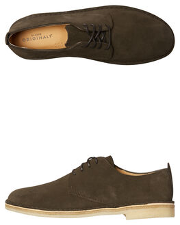 PEAT MENS FOOTWEAR CLARKS ORIGINALS FASHION SHOES - SS26128284PEATM