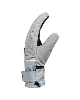 NEUTRAL GRAY BOARDSPORTS SNOW DC SHOES GLOVES - EDYHN03050-SKP0