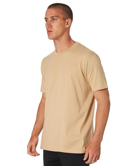 TAN MENS CLOTHING AS COLOUR TEES - 5026TAN